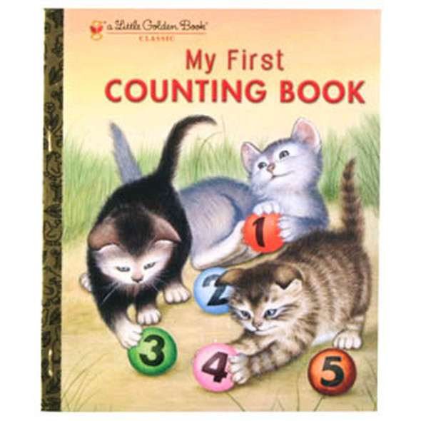 "Little Golden Book ""My First Counting Book"" - 1 Pkg"