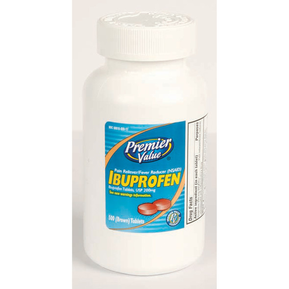 Premier Value Ibuprofen Tablets - 500ct