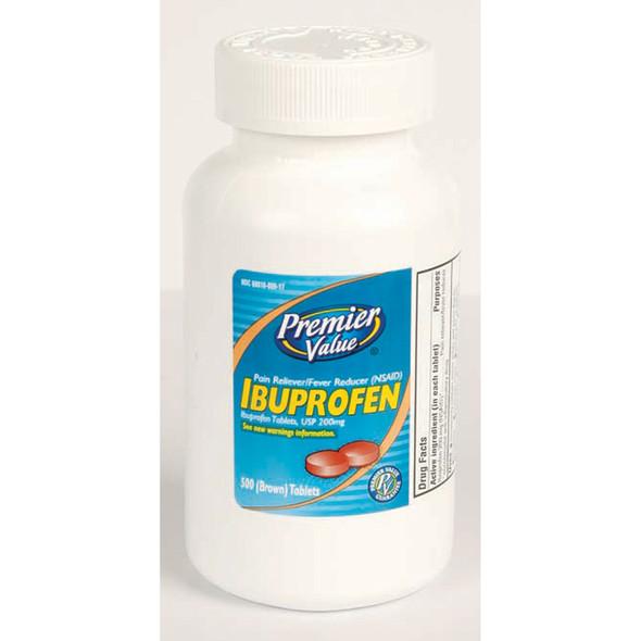 Premier Value Ibuprofen Tablets - 500ct