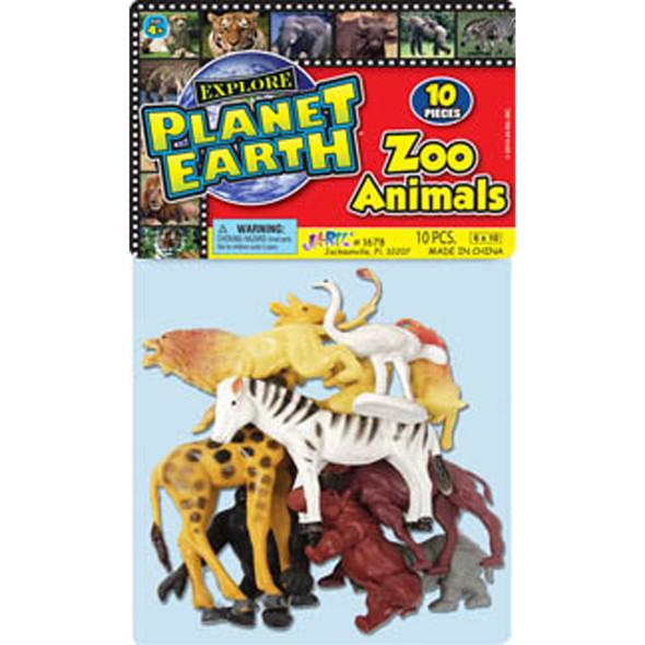 Zoo Animals, Asst - 1 Pkg