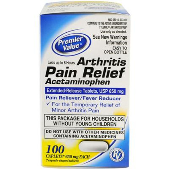 Premier Value Non-Aspirin Arthritis - 100ct