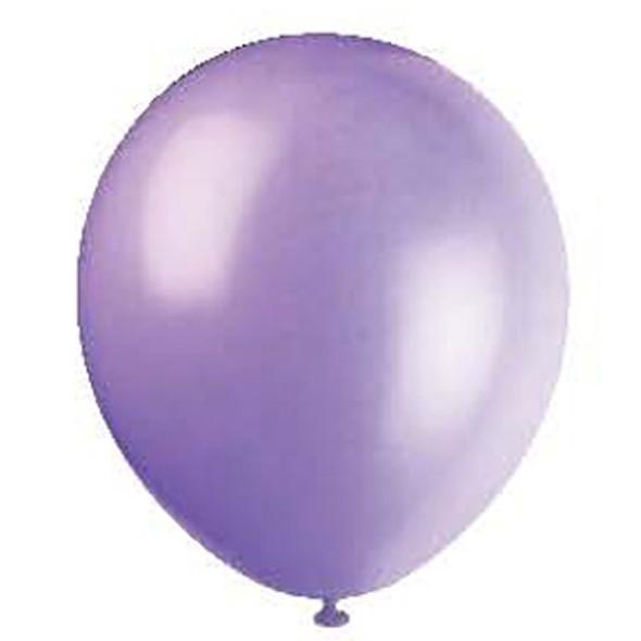 "Balloon, Lavender, 12"" - 10 Ct"
