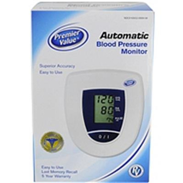 Premier Value Bp Monitor Opp Upper Arm - 1ct
