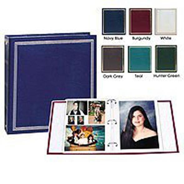 Magnetic 3 Ring Photo Album, Asst, 100 Pg - 1 Pkg