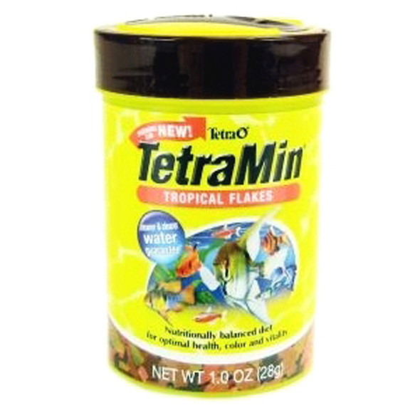 Tetra Tropical Flakes, Fish Food, 1 oz - 1 Pkg