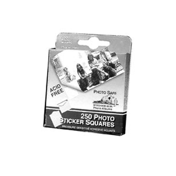 """Photo Mounts Double Sided, Clear, .5"""" - 1 Pkg"""
