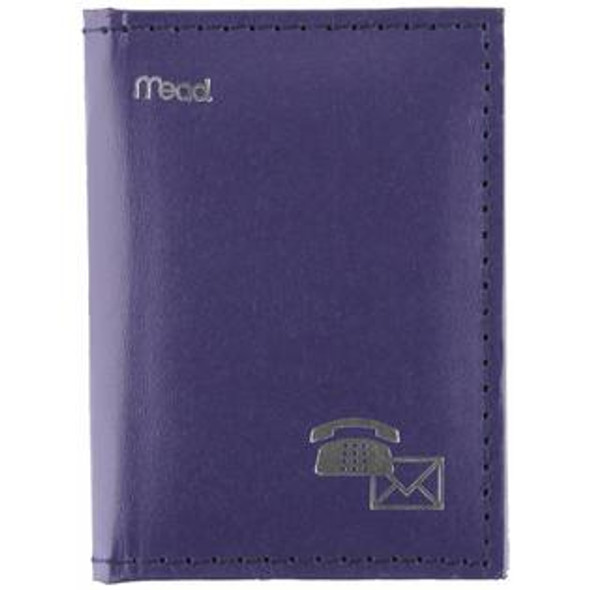 "Index Telephone/Address Book, Assorted, 3X4"" - 1 Pkg"