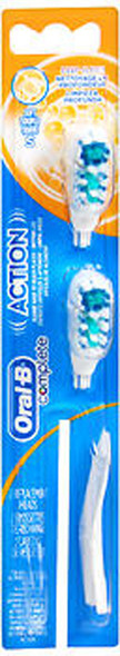 Oral-B Cross Action Power Replacement Brush Heads Soft - 2 pack