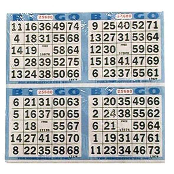 Bingo Papers, 125 count