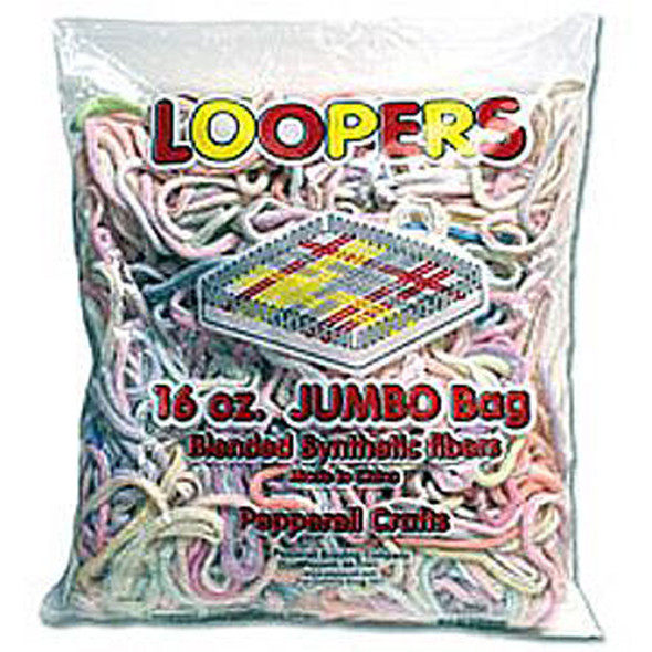 Bag Of Loopers-Synthetic, 16 oz - 1 Pkg