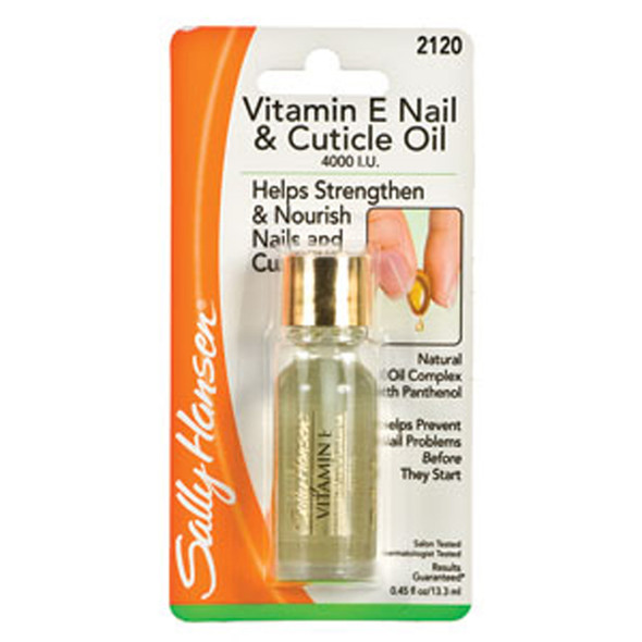 Sally Hansen Vitamin E Nail & Cuticle Remover Oil - 1 Pkg