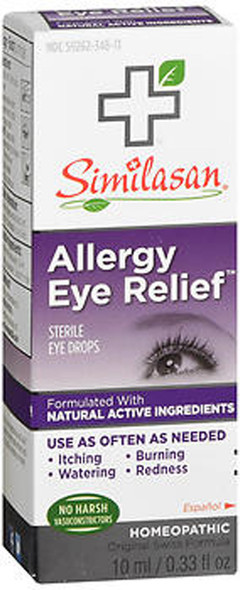Similasan Allergy Eye Relief Drops - 0.33 oz