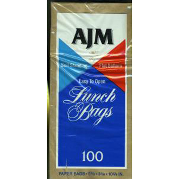 Lunch Bag, Brown, 100 Ct - 1 Pkg
