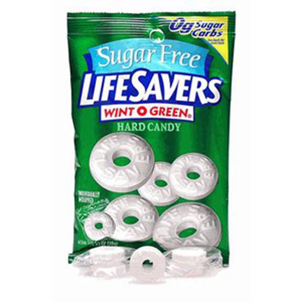 Sugar Free Life Savers, Wintergreen, 2.75 oz - 1 Bag