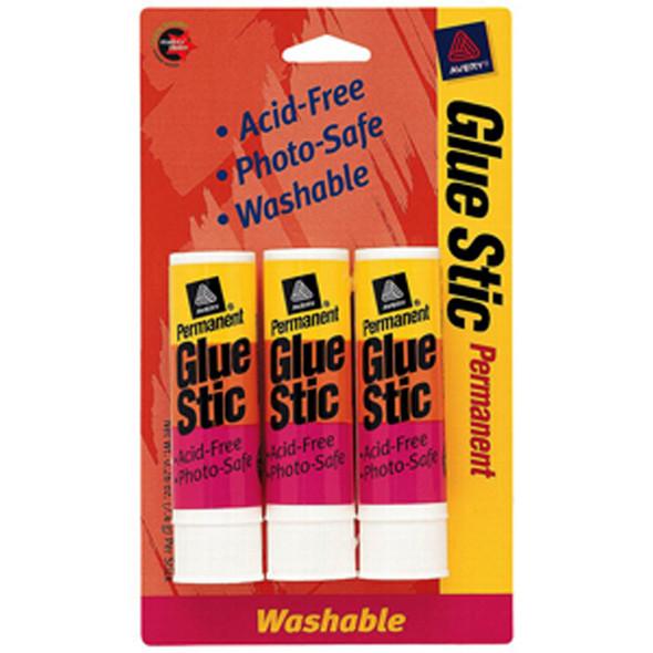 Glue Stic, 3Pk .26oz - 1 Pkg