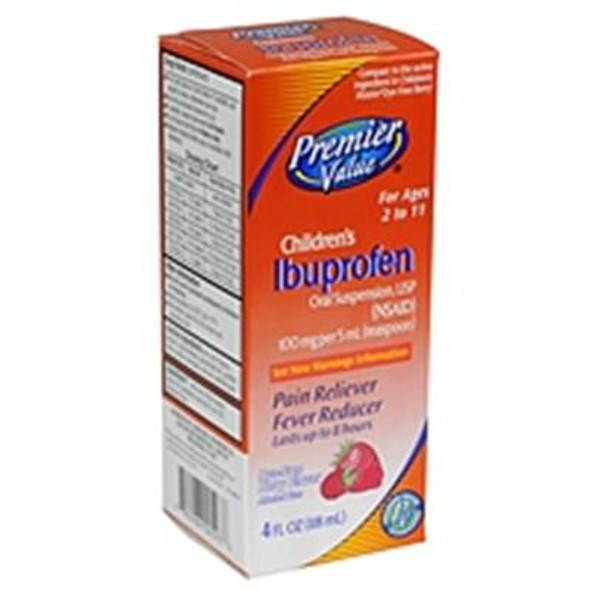 Premier Value Children Ibuprofen Dye Free - 4oz