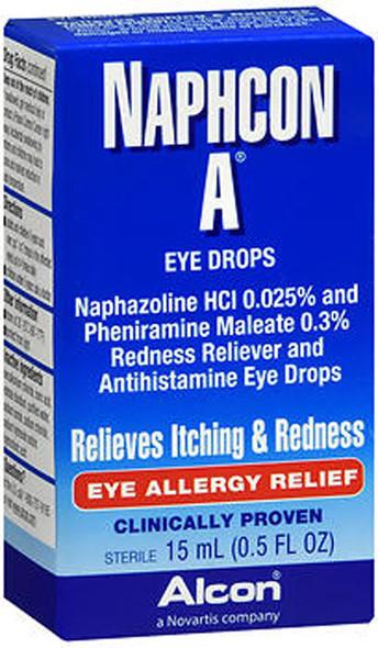 Naphcon-A Allergy Relief Eye Drops  0.5 fl oz