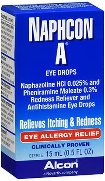 Naphcon-A Allergy Relief Eye Drops  0.5 fl oz