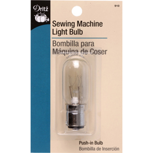Singer Sewing Machine Light Bulb, Clear, 15 Watt - 1 Pkg