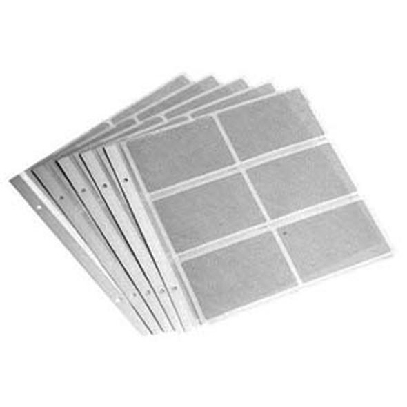 Pocket Refills W/Memo, Clear, 60 Pocket - 1 Pkg