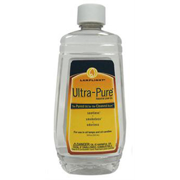 Lamp Oil Ultra-Pure, Clear, 18 oz