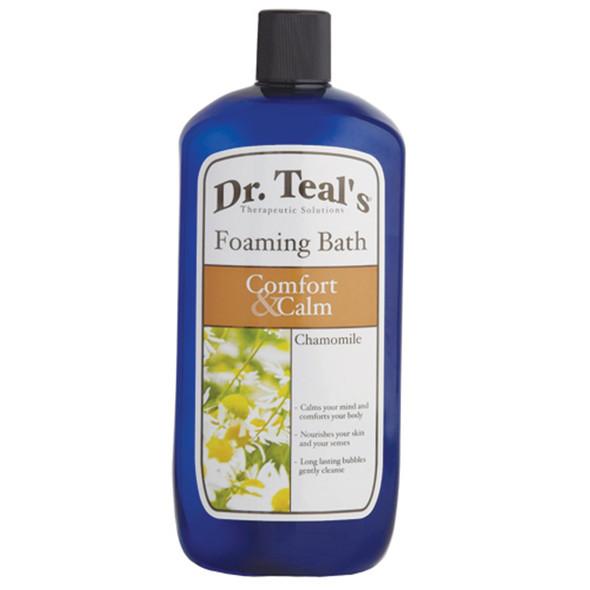 Dr. Teals Chamomile Foaming Bath, Chamomile, 34oz - 1 Pkg
