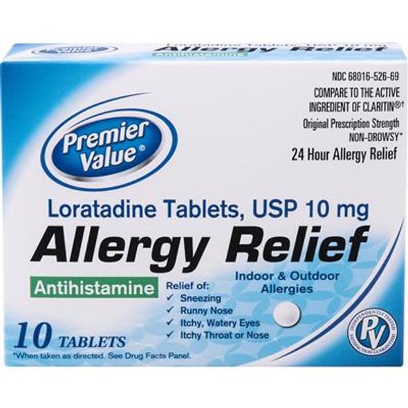 Premier Value Loratadine 10Mg - 10ct