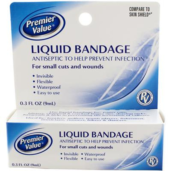 Premier Value Liquid Bandage - .3oz