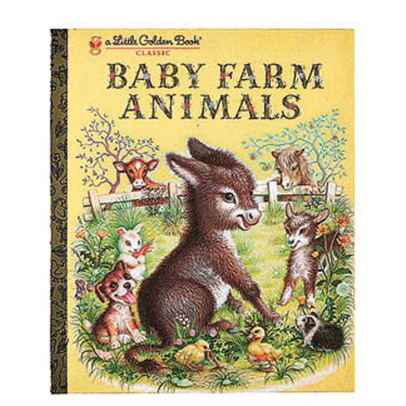 "Little Golden Book ""Baby Farm Animals"" - 1 Pkg"