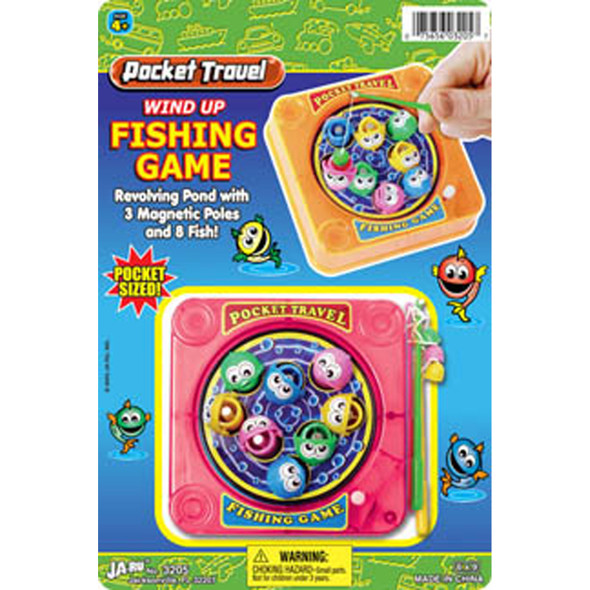 Wind Up Fishing Game - 1 Pkg