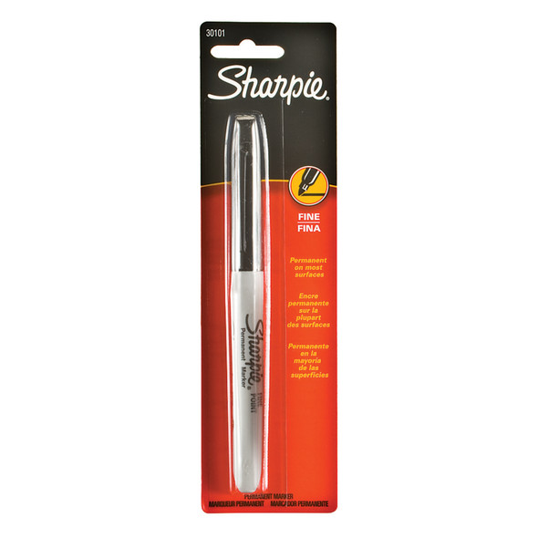 Sharpie Marker, Black Fine, 1Ct. - 1 Pkg