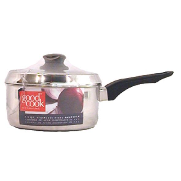 Saucepan W/Lid Cookware,  1.5 Qt - 1 Pkg
