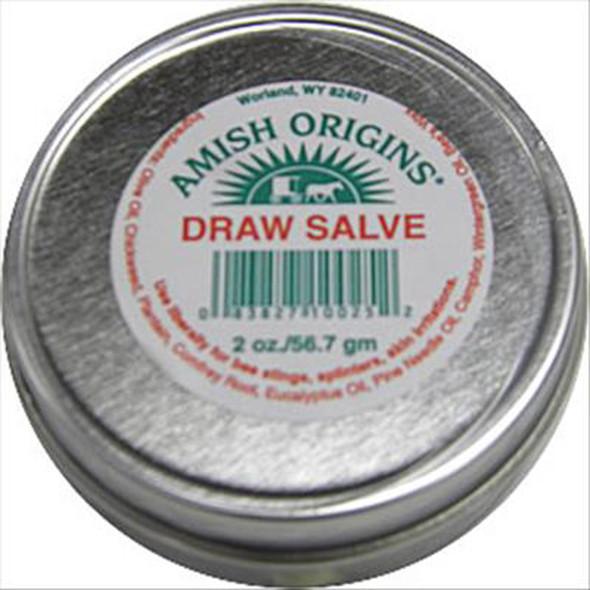 Amish Origins Draw Salve - 2 oz