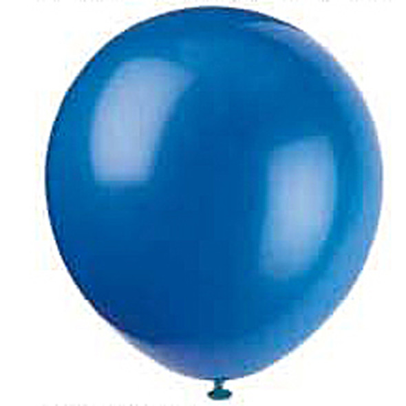"Balloon, Royal Blue, 9"" - 1 Pkg"