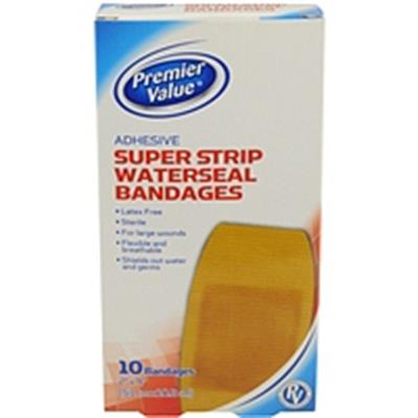 Premier Value Strong Strips Latex Free - 10ct