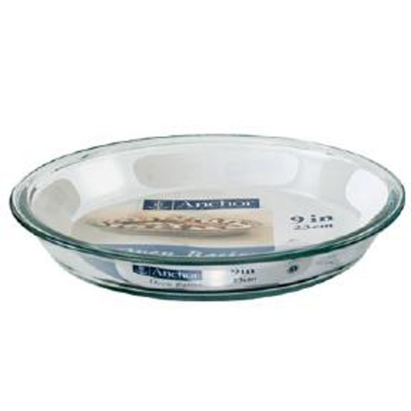 "Glass Pie Plate, Clear,  9X1.25"" - 1 Pkg"