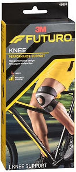Futuro Sport Moisture Control Knee Support Large, 45697EN