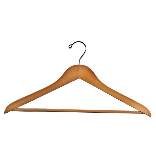 "Wood Suit Hanger, 18"" - 1 Pkg"