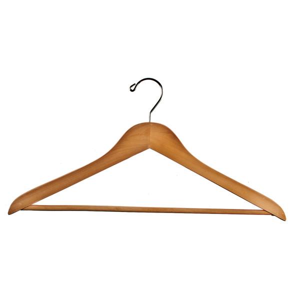 """Wood Suit Hanger, 18"""" - 1 Pkg"""
