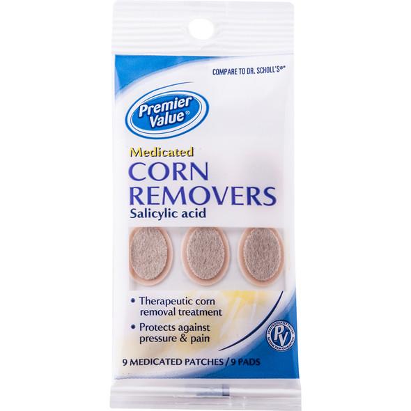 Premier Value Medic Corn Remover - 9ct