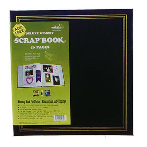 """Deluxe Scrapbook, Asst, 12"""" X 12"""" - 1 Pkg"""