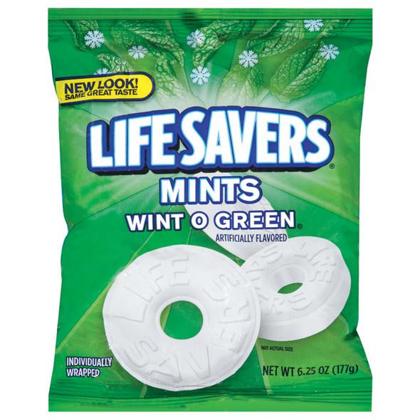 Life Savers 6.25 oz Bags, Winter Green, 6.25 oz - 1 Bag