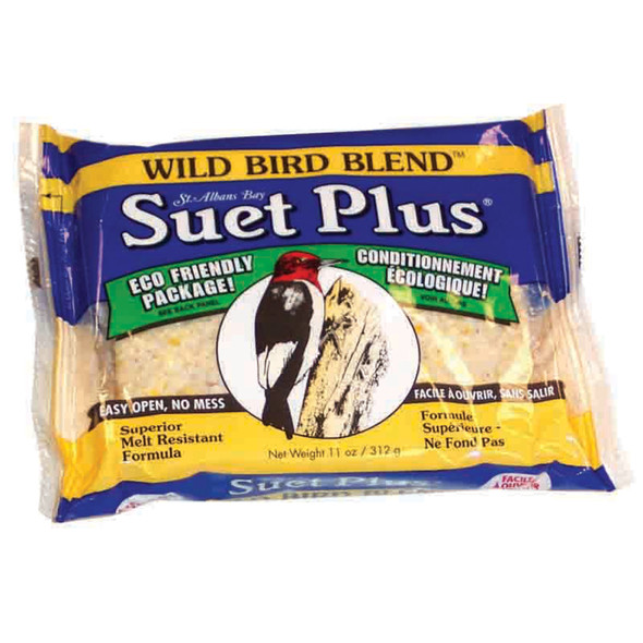 Wild Bird Blend Suet Cake, 11oz - Each