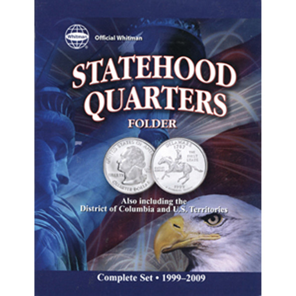 Whitman Statehood Quarter Folder, 50State - 1999-09