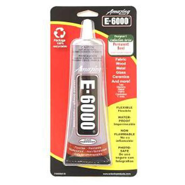 E-6000 Craft Adhesive, Clear, 2 oz - 1 Pkg
