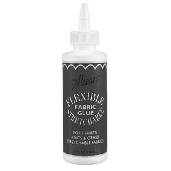Aleene's Flexible Stretchable Fabric Glue - 4 oz