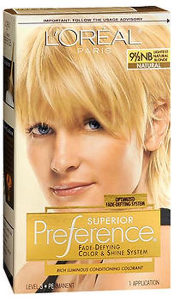 L'Oreal Superior Preference - 9-1/2NB Lightest Natural Blonde (Natural)