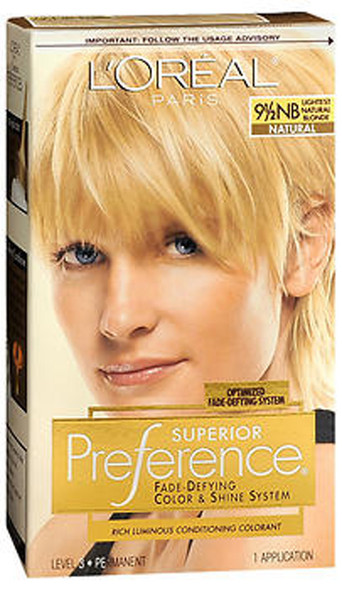 L'Oreal Superior Preference - 9-1/2NB Lightest Natural Blonde (Natural)