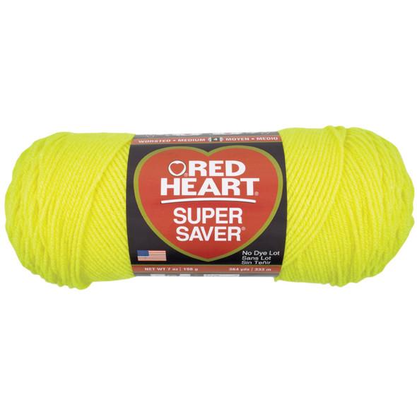 E300 Super Saver Yarn, Bright Yellow, 7 oz - 3 Packs