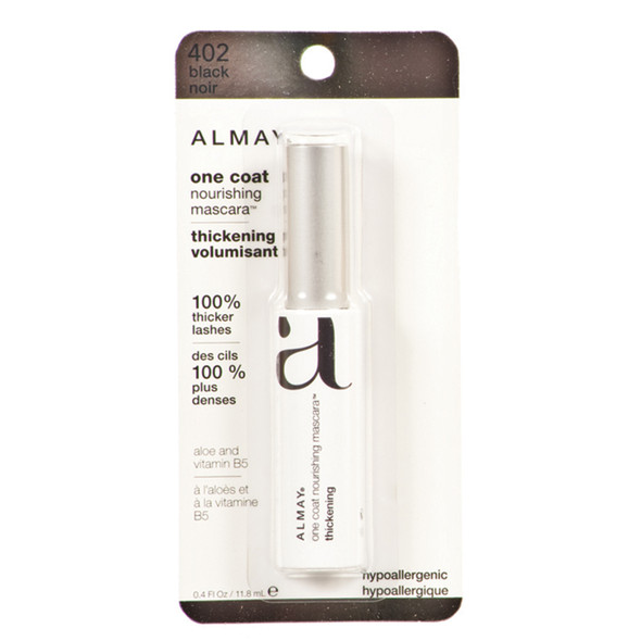 Almay One Coat Thickening Mascara, Black - 1 Pkg